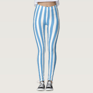 Argentina Stripes Flag Leggings