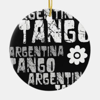 Argentina Tango Ceramic Ornament