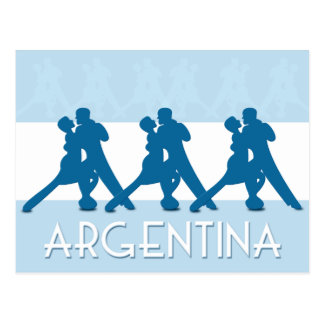 Argentina Tango postcard