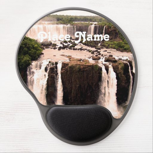 Argentina Waterfalls Gel Mouse Pads