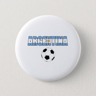 Argentina World Cup 2010 6 Cm Round Badge