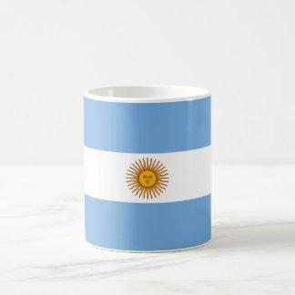 Argentina World Flag Basic White Mug
