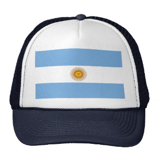 Argentina World Flag Hat