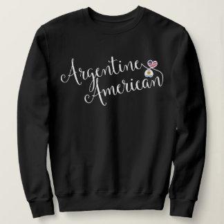 Argentine American Entwinted Hearts Sweatshirt