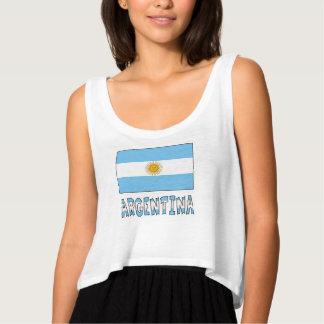 Argentine Flag and Argentina Singlet