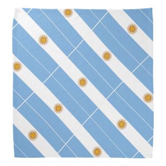 Argentine flag bandana   Colors of Argentina Bandanas