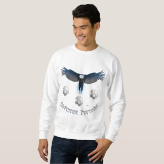 Argentine Soccer Eagle Men's Sweatshirt
