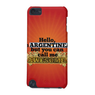 Argentinean, but call me Awesome iPod Touch (5th Generation) Covers