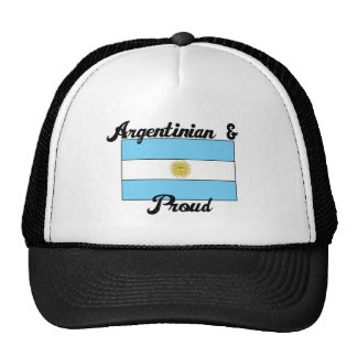 Argentinian and Proud Hats