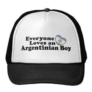 Argentinian Boy Mesh Hats