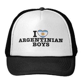 Argentinian Boys Mesh Hat