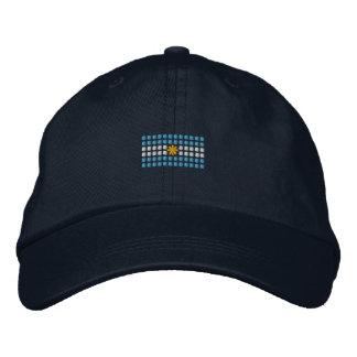 Argentinian Cap - Argentina Flag Hat Embroidered Hat