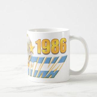 Argentinian flag 1978 1986 World Champions gear Coffee Mug
