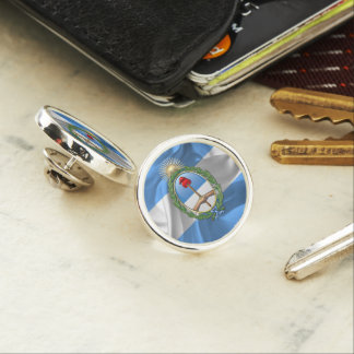 Argentinian flag lapel pin