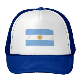 Argentinian flag of Argentina Albicelestes Gifts Trucker Hat