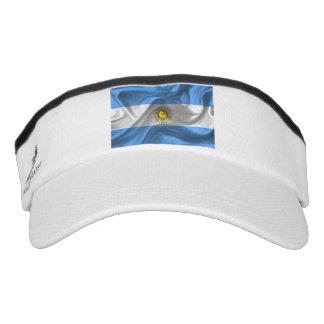 Argentinian flag visor