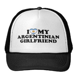 Argentinian Girlfriend Mesh Hats