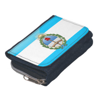Argentinian glossy flag wallets