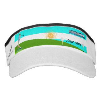 Argentinian golfer visor