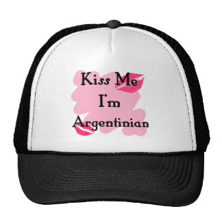 argentinian mesh hat