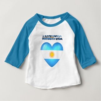 Argentinian heart baby T-Shirt