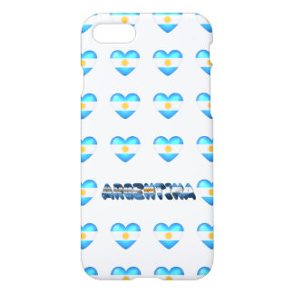 Argentinian hearts iPhone 8/7 case