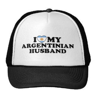 Argentinian  Husband Mesh Hats