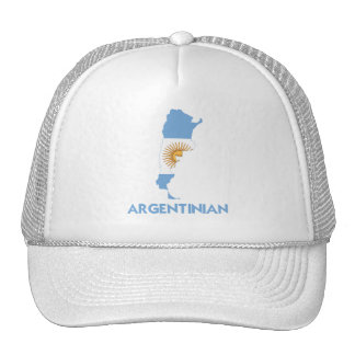 ARGENTINIAN MAP MESH HAT