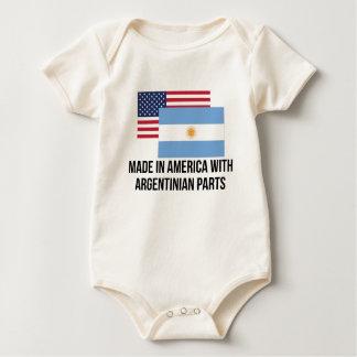 Argentinian Parts Baby Bodysuit