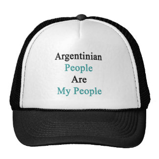 Argentinian People Are My People Cap