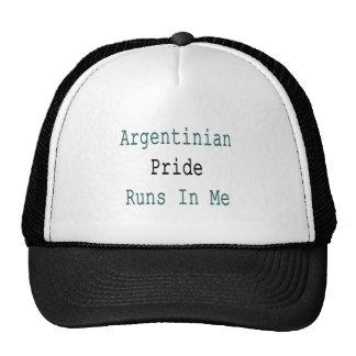 Argentinian Pride Runs In Me Cap