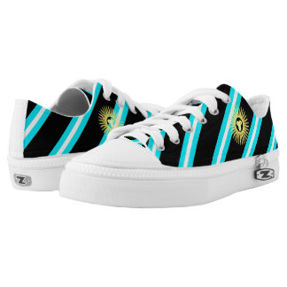 Argentinian stripes flag low tops