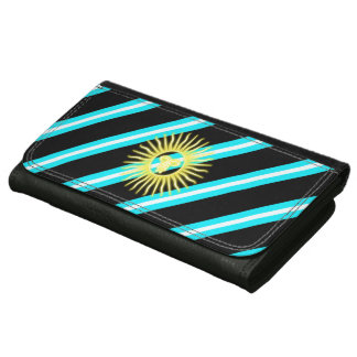 Argentinian stripes flag wallets