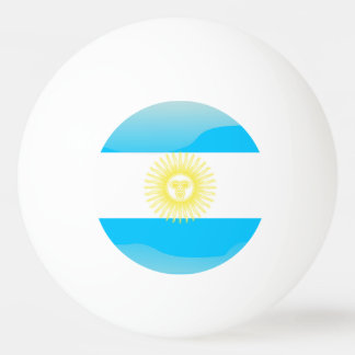 Argentinian Sun of May Ping Pong Ball