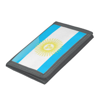 Argentinian Sun of May Tri-fold Wallets