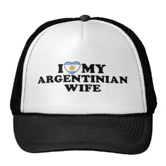 Argentinian  Wife Hats