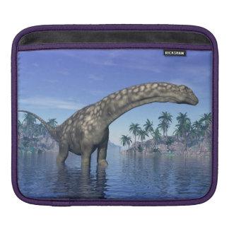 Argentinosaurus dinosaur - 3D render iPad Sleeve