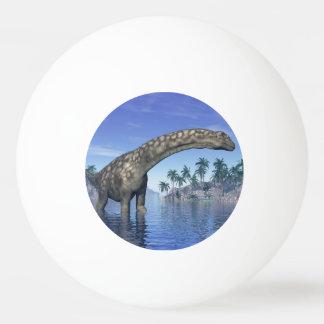 Argentinosaurus dinosaur - 3D render Ping Pong Ball