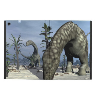 Argentinosaurus dinosaur drinking iPad air case
