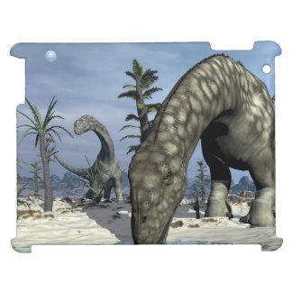 Argentinosaurus dinosaur drinking iPad cases