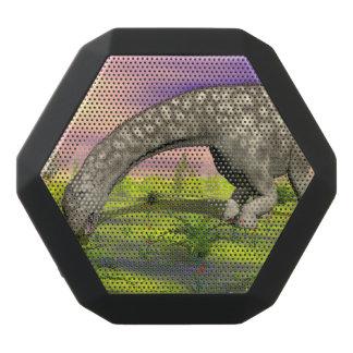 Argentinosaurus dinosaur eating - 3D render Black Bluetooth Speaker
