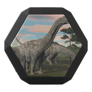 Argentinosaurus dinosaur eating tree - 3D render Black Bluetooth Speaker