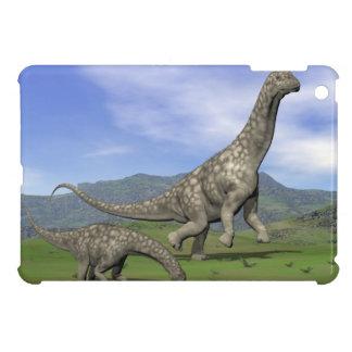 Argentinosaurus dinosaurs - 3D render iPad Mini Case