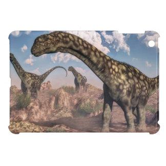 Argentinosaurus dinosaurs - 3D render iPad Mini Cover