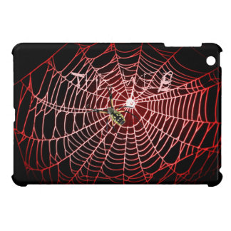"""Argiope Spider web, webbing """"The Web"""" blue Cover For The iPad Mini"""