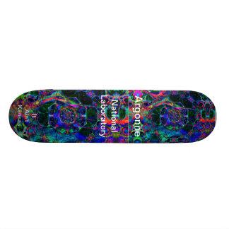 Argonne - Time Travel Through the Worm Hole 21.3 Cm Mini Skateboard Deck