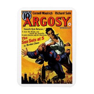 """Argosy"" March, 1940 Magnet"