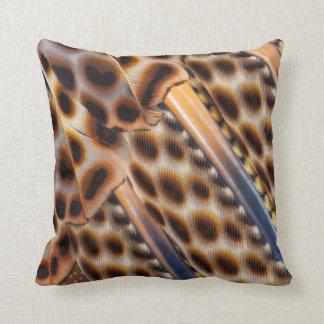Argus Pheasant Feather Design Cushion
