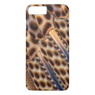 Argus Pheasant Feather Design iPhone 8 Plus/7 Plus Case