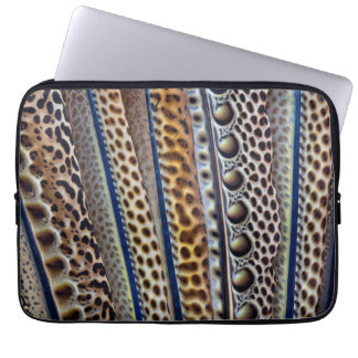 Argus Pheasant wing feathers Laptop Sleeve